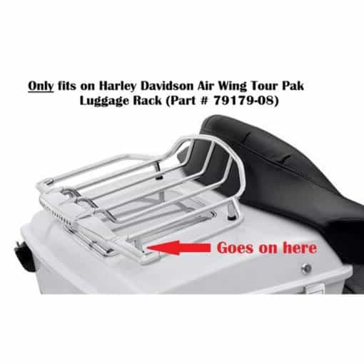 HARLEY AIR WING RACK FITMENT